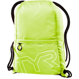 TYR Draw String Backpack, flou yellow